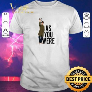 Official Liam Gallagher as you were shirt