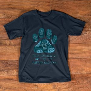 Original Easily Distracted By Turtles And Dogs shirt
