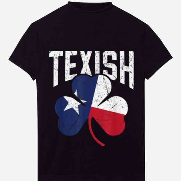 Original St Patricks Day Texish Texas Irish shirt