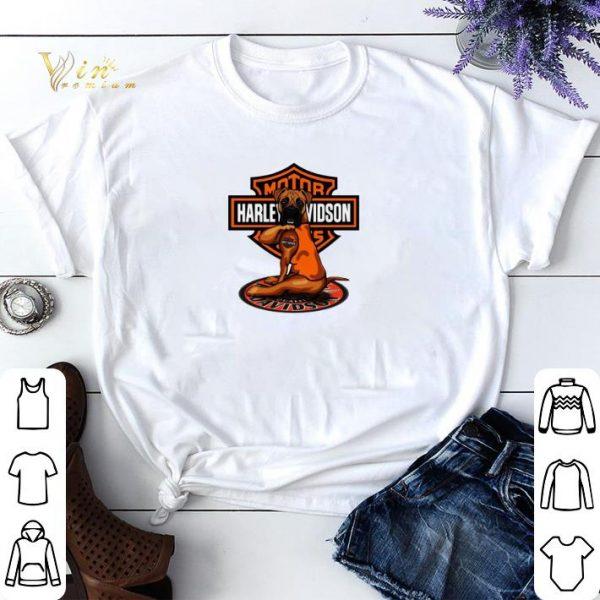 Pitbull tattoo Harley Davidson Motor shirt sweater