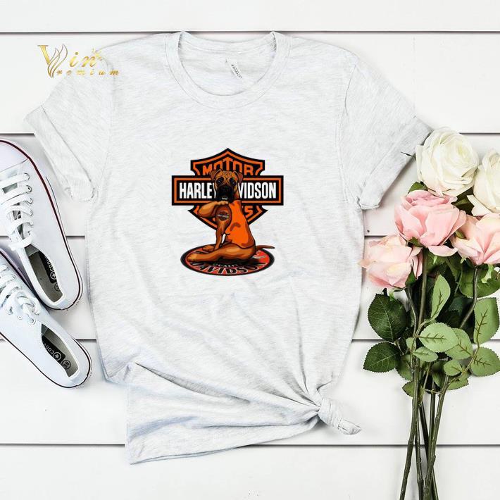 Pitbull tattoo Harley Davidson Motor shirt sweater 4 - Pitbull tattoo Harley Davidson Motor shirt sweater