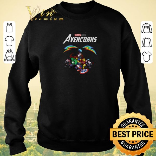 Premium Marvel Unicorn Avencorns Avengers Endgame shirt sweater