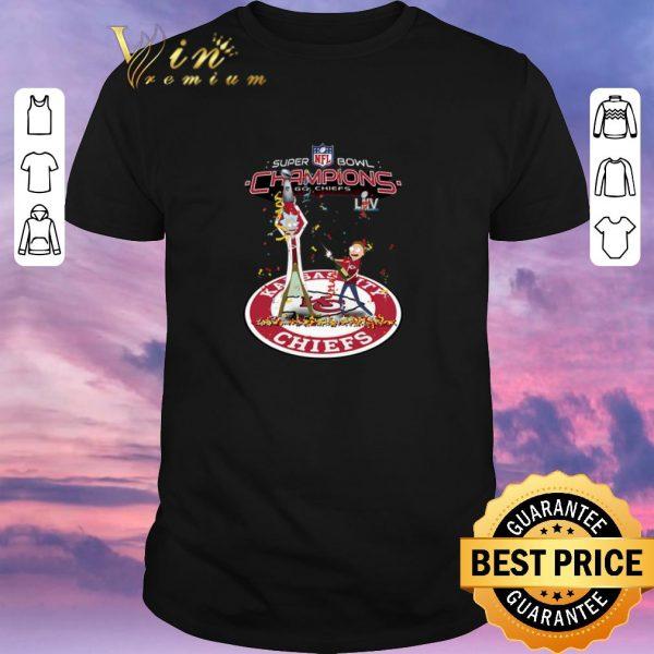 Premium Rick And Morty Mashup Kansas City Chiefs Super Bowl Champions shirt sweater
