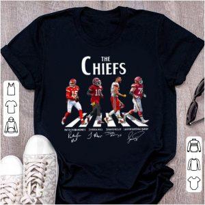 Premium The Chiefs Patrick Mahomes Tyreek Hill Travis Kelce Signature shirt