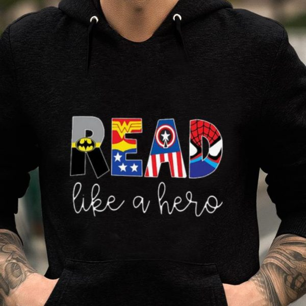 Pretty Avenger Read Like A Hero shirt