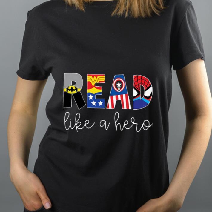 Pretty Avenger Read Like A Hero shirt 4 - Pretty Avenger Read Like A Hero shirt