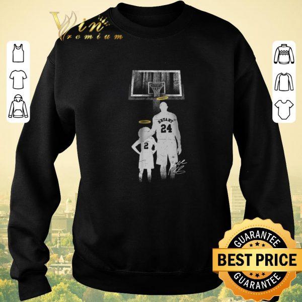 Top Forever Legends 2 Gianna Bryant 24 Kobe Bryant signature shirt sweater