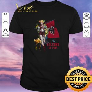 Top Harley Quinn Flag Atlanta Falcons Of Prey shirt sweater