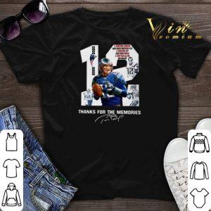 12 Tom Brady New England Patriots 2000 2020 signatures shirt sweater