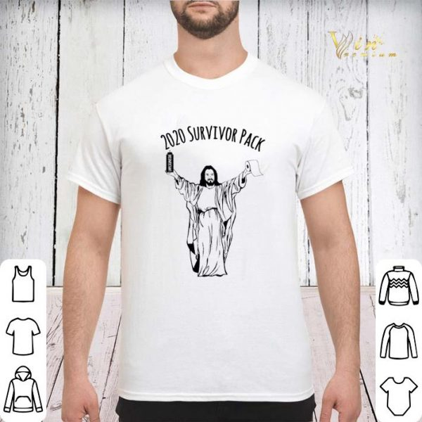 2020 survivor pack Jesus hold Disinfectant and Toilet Paper shirt sweater