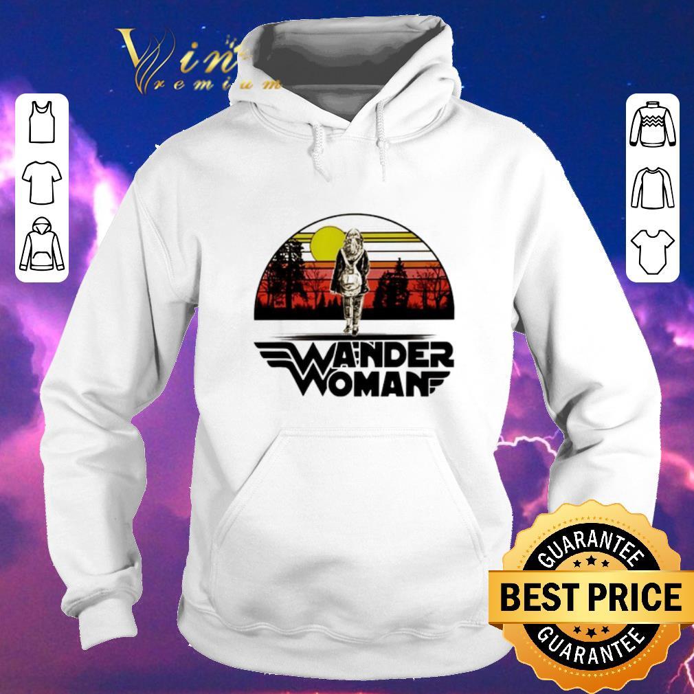 Funny Wander woman logo sunset shirt sweater 4 - Funny Wander woman logo sunset shirt sweater