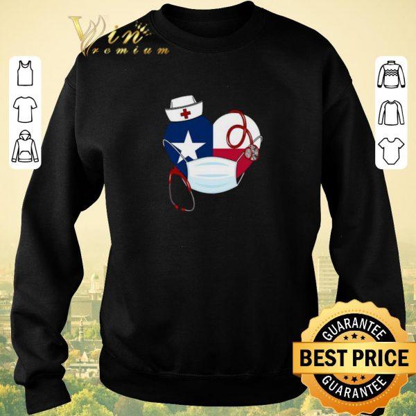 Hot Love Texas nurse Coronavirus shirt sweater