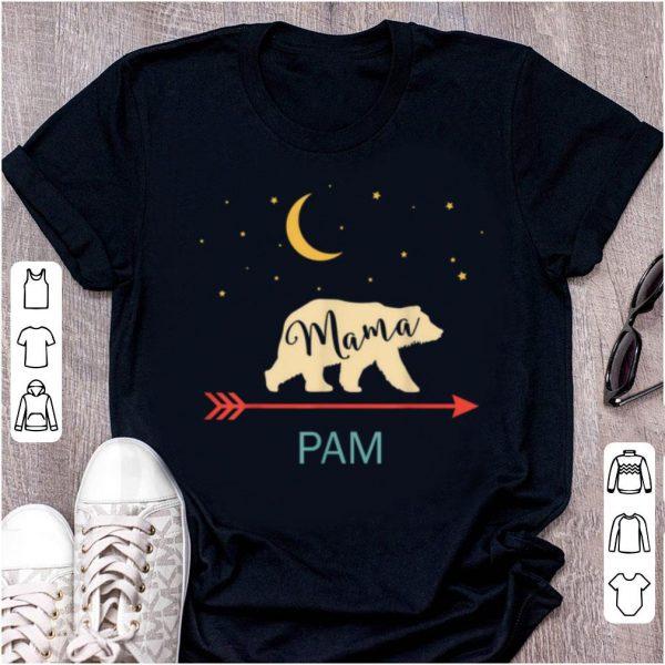 Hot Pam Name Gift Personalized Retro Mama Bear shirt