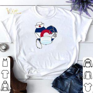Love Colorado Stethoscope nurse mask shirt sweater