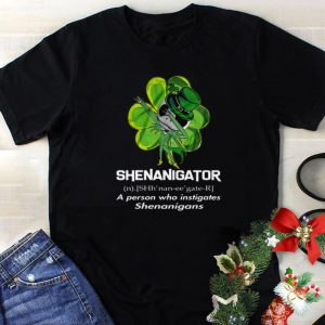 Nice Jack Skellington Shenanigator A Person Who Instigates Shenanigans shirt