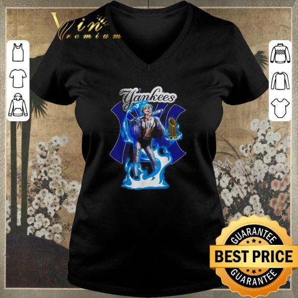 Top Harley Quinn mashup New York Yankees shirt sweater
