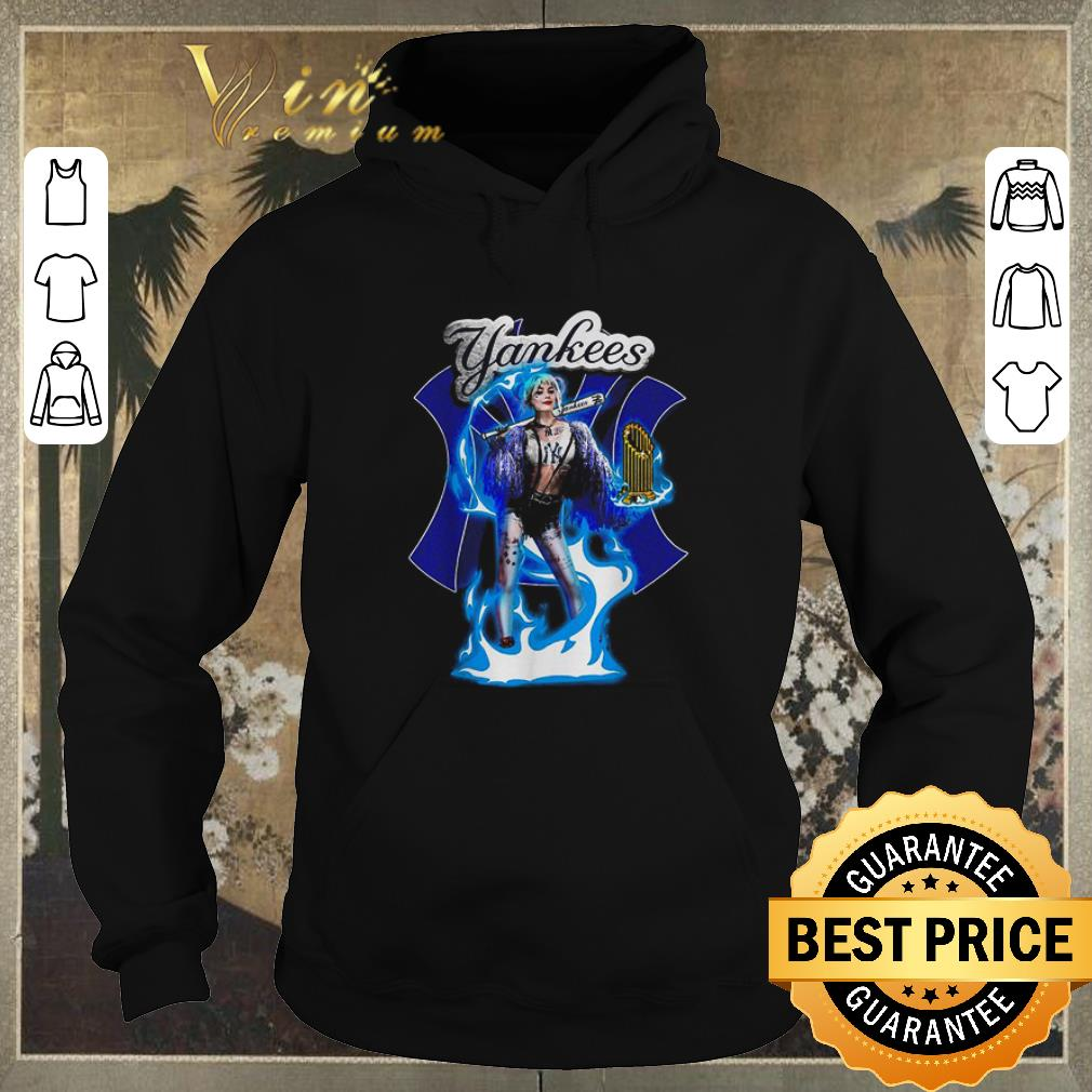Top Harley Quinn mashup New York Yankees shirt sweater 4 - Top Harley Quinn mashup New York Yankees shirt sweater