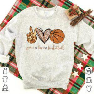 Top Peace Love Diamonds Basketball shirt