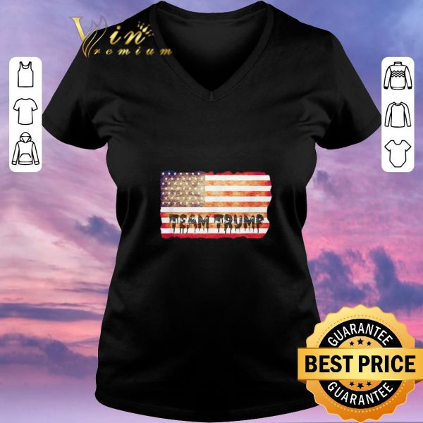 Top Team Trump American flag USA shirt sweater