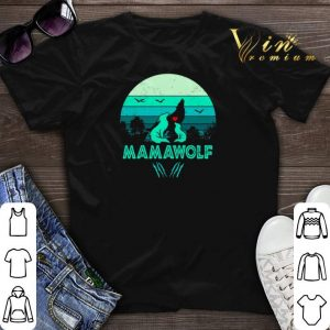 Wolves love mamawolf vintage mother day shirt sweater