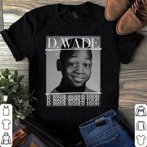 D. Wade World Tour Merch shirt