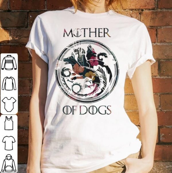 Game Of Thrones Mother of dogs floral shirt