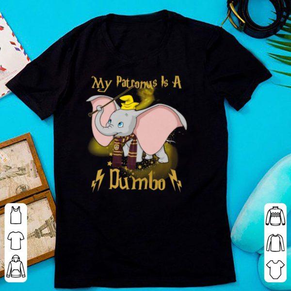 Harry Potter My Patronus Is A Dumbo Ladies shirt