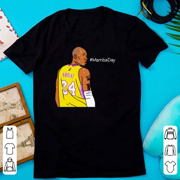 Kobe Bryant Los Angeles Lakers Happy Mamba Day shirt