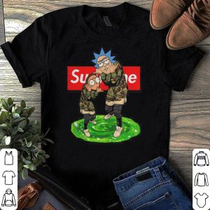 Rick and Morty Supreme shirt