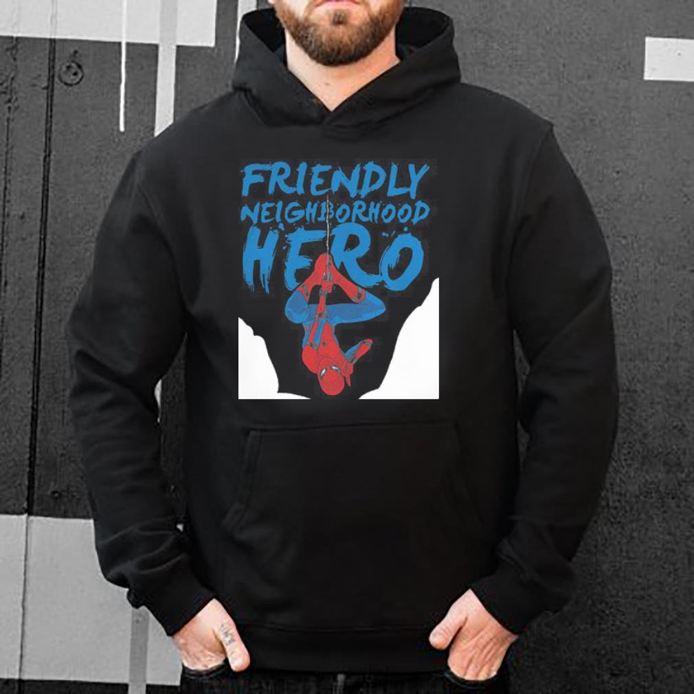 Spider man friendly neighborhood hero shirt 4 - Spider man friendly neighborhood hero shirt