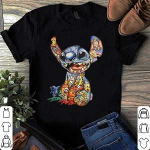 Stick All Disney Characters shirt
