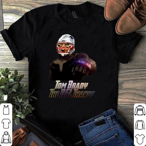Tom Brady Patriot The NFL Thanos shirt