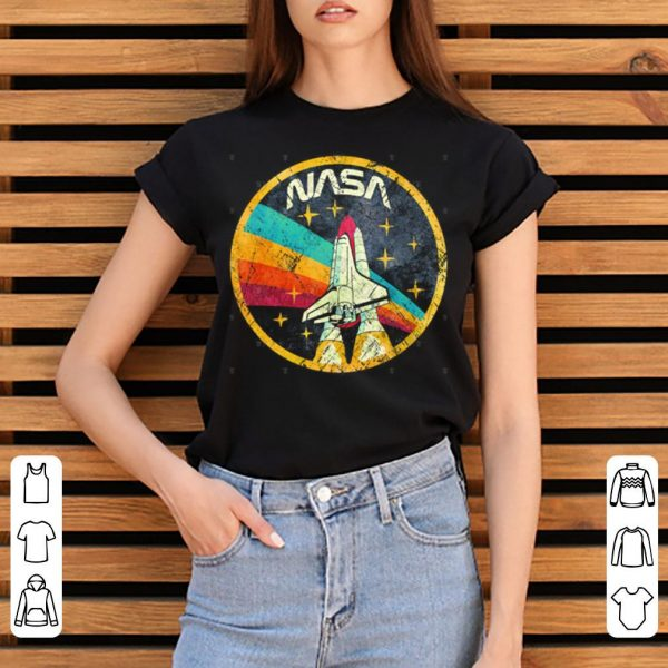 USA Space Agency Vintage Colors V03 shirt