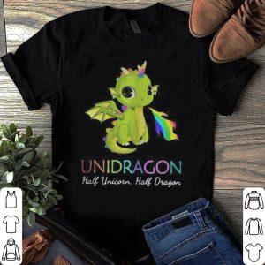 Unidragon Half Unicorn Half Dragon Funny shirt