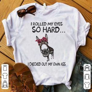 ow I rolled my eyes so hard I checked out my own ass shirt