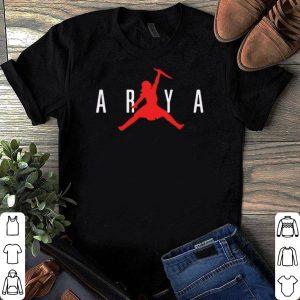 Arya Stark Air Not today shirt