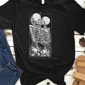 Bone Love The Lovers Zipped Hoodie shirt
