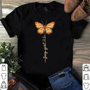 Butterfly jeep girl shirt