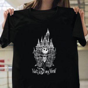 Jack Skellington Walt Disney World shirt