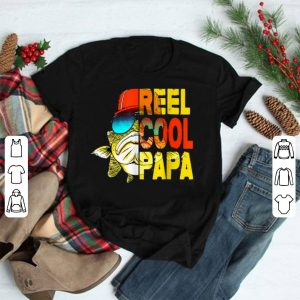 Reel Cool Papa Fishing Father's Day shirt