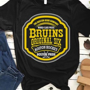 The Boston Bear Company World Class Pucks Bruins Original Sic Boston Hockey Boston Pride shirt