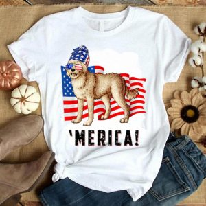 4th Of July Cockapoo Dog Merica Tee Shirt