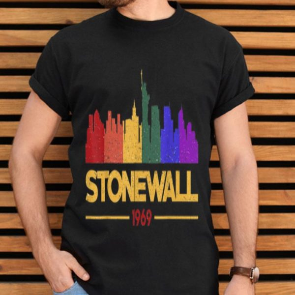 90's Style Stonewall 50th Gay Pride LGBTQ Rights shirt