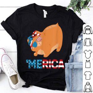 American Flag manx Cat 4th Of July Cat shirt