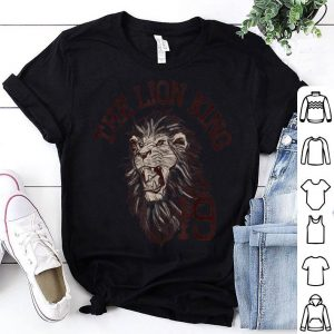 Disney The Lion King Simba Varsity Text shirt