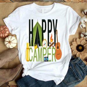 Happy Camper Camping Meme Adventure Get Lost shirt