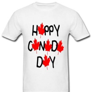 Happy Canada Day Maple Leaves Shirt