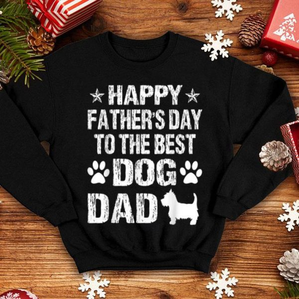 Happy Father's Day To The Best Westie Dad shirt