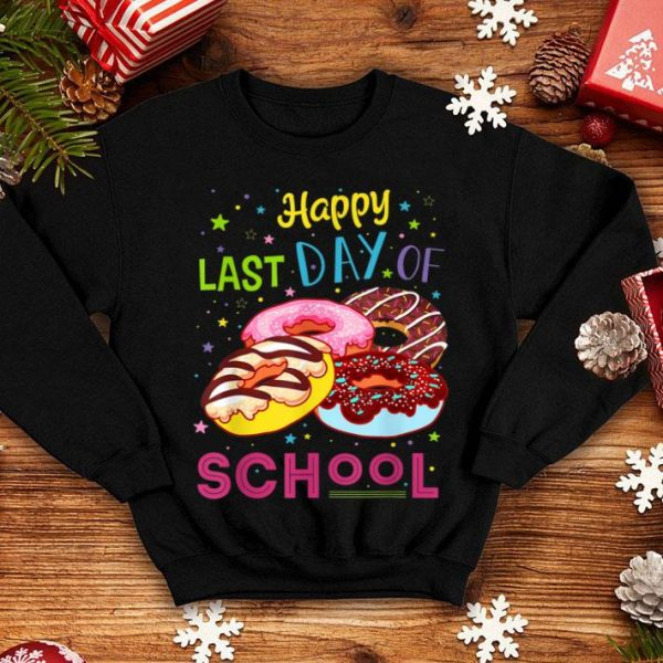 Happy Last Day Of School Teacher Student Graduation Gift Shirt