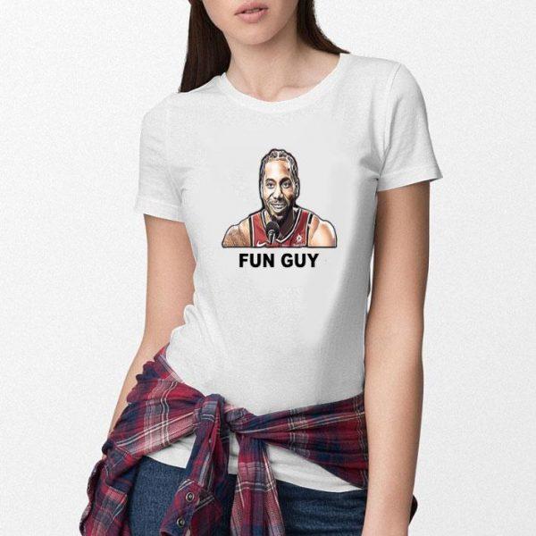 Kawhi Leonard Fun Guy Shirt